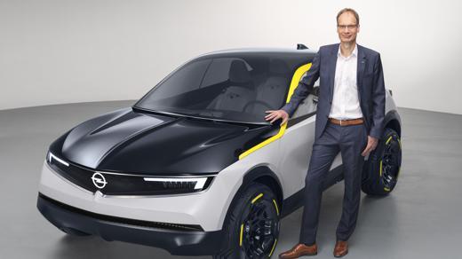 Michael Lohscheller Opel GT X Experimental
