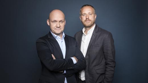 Die BBDO Chefs Frank Lotze (l.) und Wolfgang Schneider bauen um (Foto: Agentur)