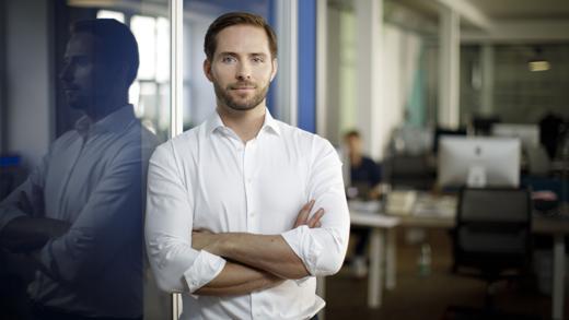 Christoph Weigler ist seit drei Jahren Ubers Deutschlandchef