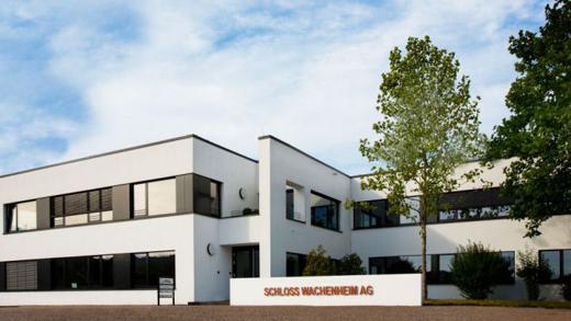 Die Konzernzentrale von Schloss Wachenheim in Trier
