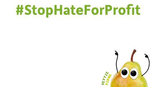 #StopHateForProfit Freche Freunde