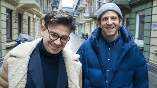 Jankel Huppertz und Johannes Haverkamp