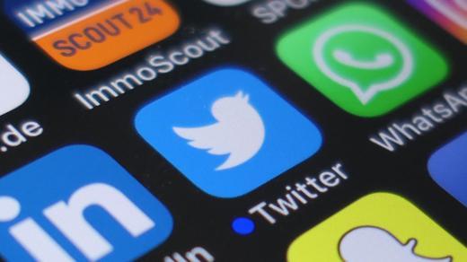 Twitter Icon Smartphone