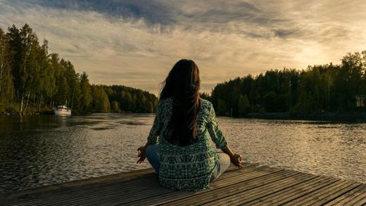 Wellness Yoga Entspannung See Wohlbefinden