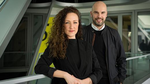 Lisa Erdmann, Samy Kouatli