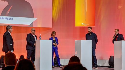 Uwe Storch (Ferrero), Monika Schulze (Zurich Insurance)