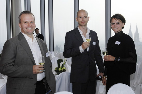 Frank Zimpel, Geschäftsführer Denkwerk, Michael Multinu, Teamleiter Online-Marketing Thomas Cook, Heike Wahlers, Denkwerk (von links nach rechts)