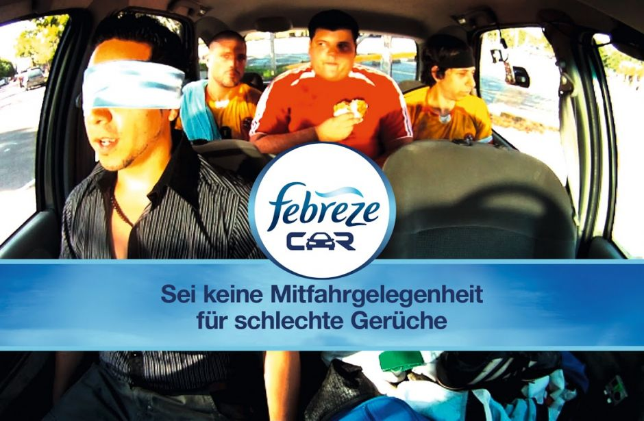 Bronze: Febreze Car (Grey)