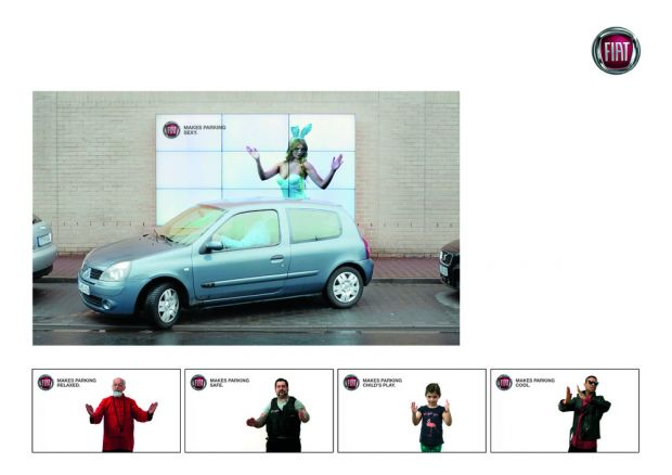 Leo Burnett - The Interactive Parking Billboard
