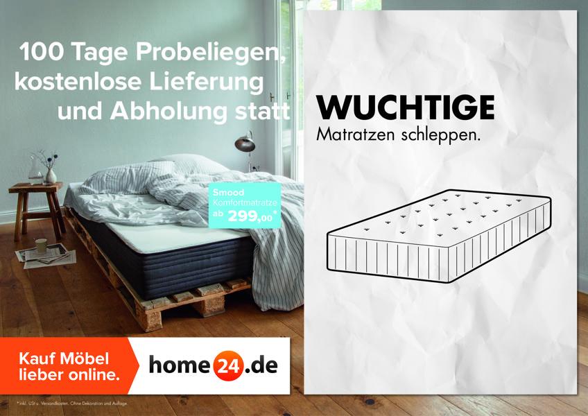 Online Möbelhaus Home24 Veralbert Ikea In Plakatkampagne