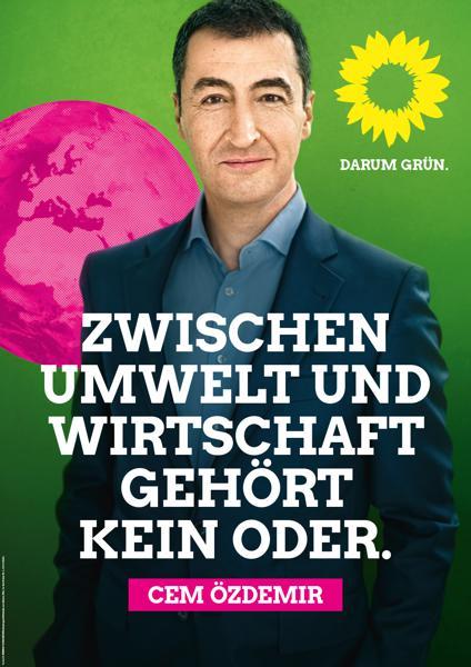 Wahlplakate Die Grünen