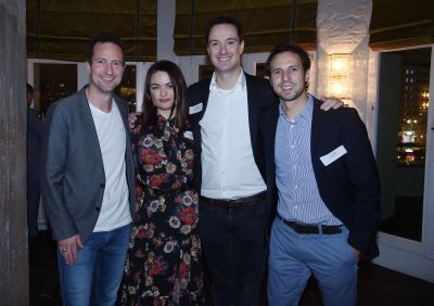Jasper Laursen (Brand Movers and Founder Native Advertising Institute), Yvonne Beister (Head of BILD Brand Studio), Robert Heesen (Head of BILD Brand Studio) und Stefan Betzold (Managing Director Bild Digital), von links