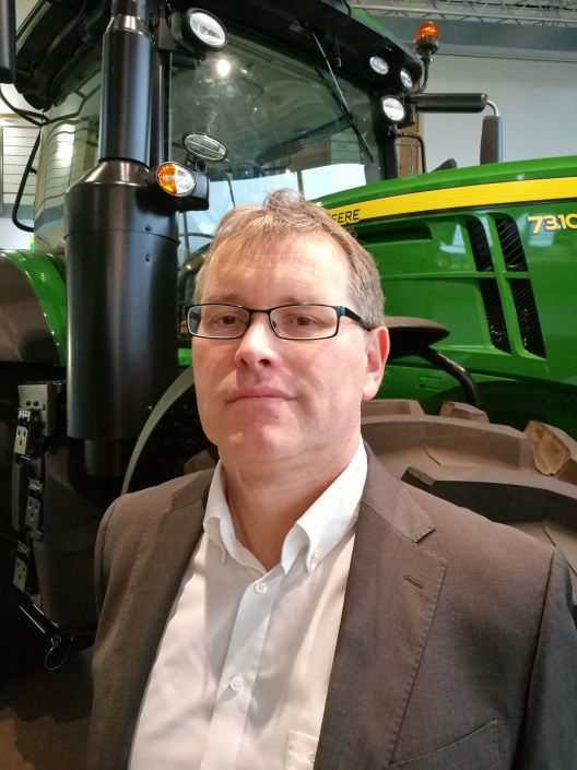 Stefan Mügge, Leiter Marketing Kommunikation bei John Deere