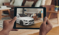 "Augmentes Reality: So funktioniert die App ""Mercedes cAR"""