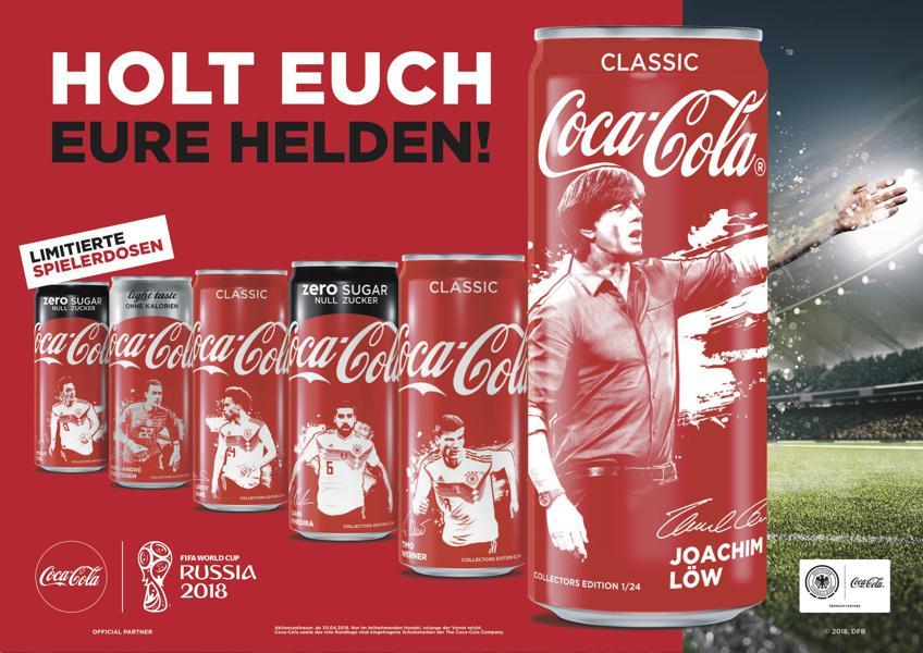 Kühlschrank Coca Cola Klein : Coca cola die kampagne des getränkeriesen zur wm