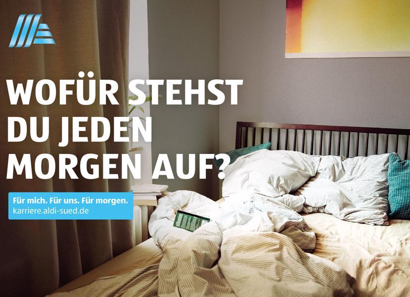 recruiting die employer branding kampagne von aldi sd - Karrierealdi Suedde Online Bewerbung