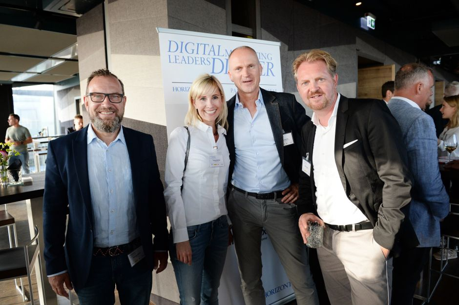 Thomas Müller, Audi; Yvonne Richter, Deutsche Post; Frank Bachér, RMS Radio Marketing Service; Mike Bödger, Wall (v. l.)