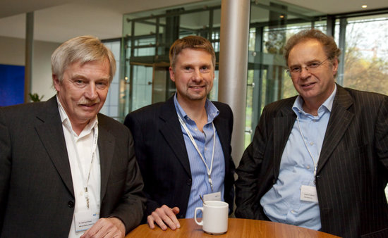 Dr. Gerhard Franz (MM & K Media_EFFECTS), Robert Schäffner (IP Deutschland), Dieter K. Müller (ARD-Werbung Sales & Services)