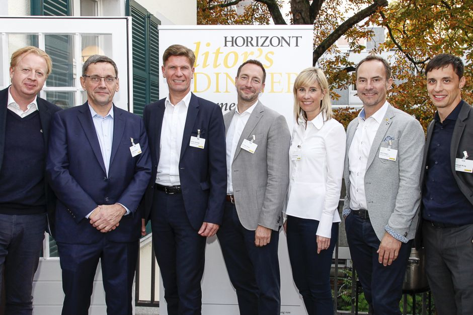 Peter Gerich, HORIZONT; Jürgen Scharrer, HORIZONT; Oliver Schliebs, Deutsche Post; Dr. Dirk Görtz, Deutsche Post; Yvonne Richter, Deutsche Post; Alfo Fliegen, Deutsche Post; Christoph Krug, HORIZONT
