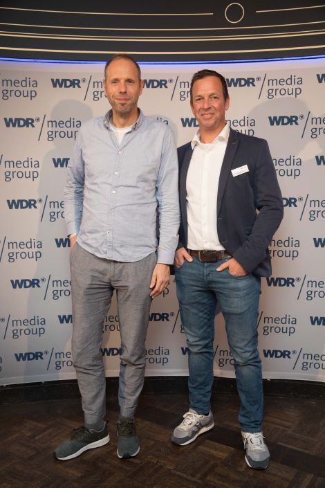 Axel Subklew, Reclay Group und Frank Becker, WDR Mediagroup