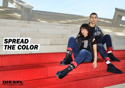 "Diesel: Die Motive von ""Spread The Color"""