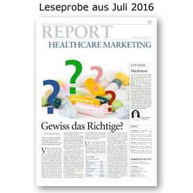 HORIZONT REPORT Healthcare-Marketing