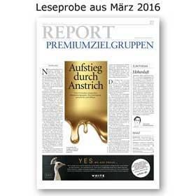 HORIZONT REPORT Premium-Zielgruppen