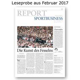 HORIZONT REPORT Sportbusiness II