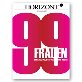 HORIZONT Magazin 99 Frauen