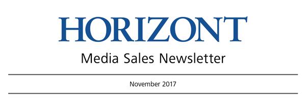 HORIZONT Media Sales Newsletter