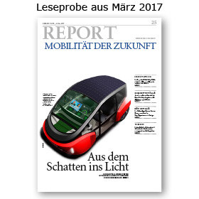 HORIZONT REPORT Mobilität der Zukunft