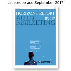 HORIZONT REPORT Automarketing I