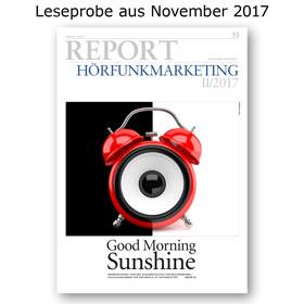 HORIZONT REPORT Hörfunkmarketing I