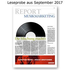 HORIZONT REPORT Musikmarketing