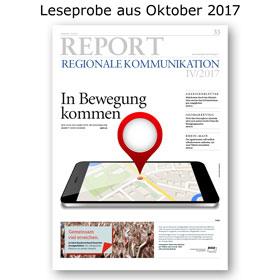HORIZONT REPORT Regionale Kommunikation I