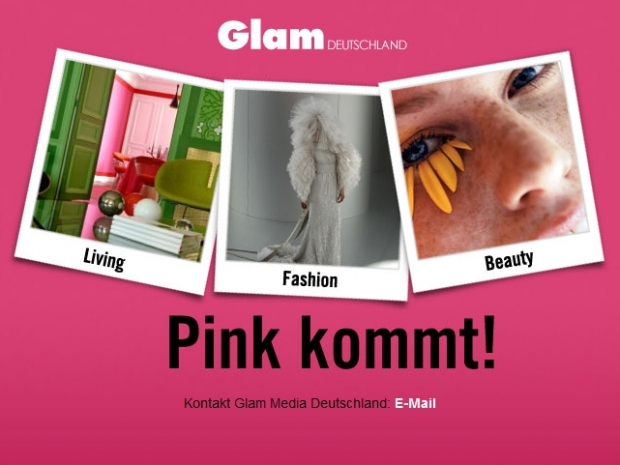 Glam verspricht Living, Fashion und Beauty