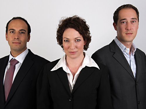 Robert Lenz, Stephanie Ruppert, Stephan Knaack (v.l.)