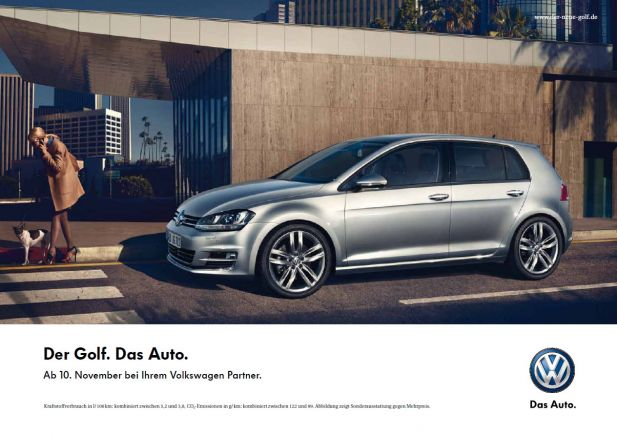 Tv Spot Der Superlative Volkswagen Legt Werbeturbo Für Den Golf Ein