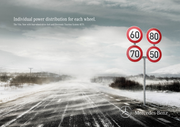 Bronze: Scholz & Friends, Berlin / Mercedes-Benz Transporter: Traffic Sign Speed, Traffic Light