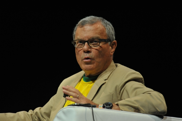 CEO Martin Sorrell bleibt mit WPP die Nummer 1 in Cannes (Foto: Getty Images)