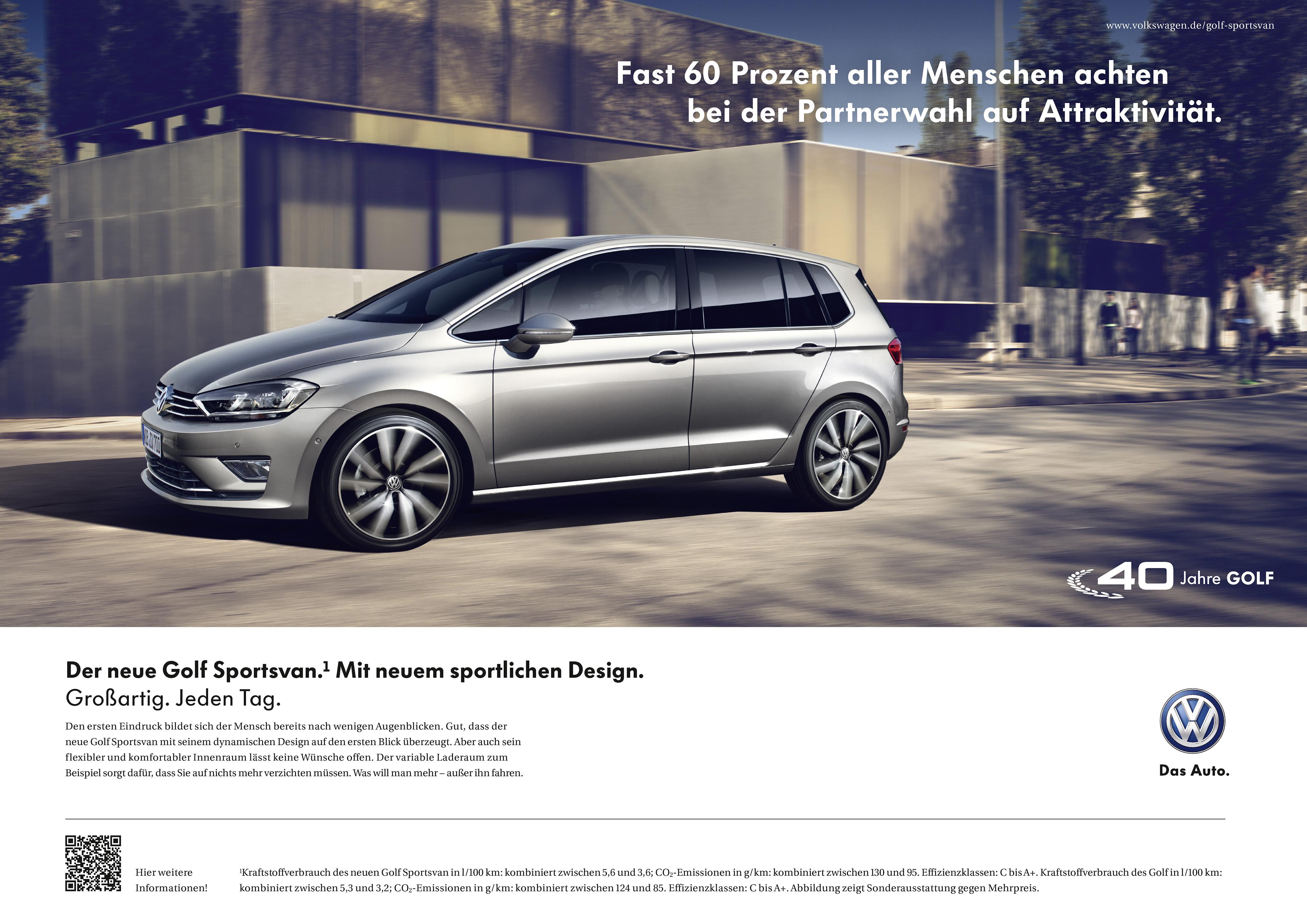 golf sportsvan kampagne ueberraschung auf der hinterbank