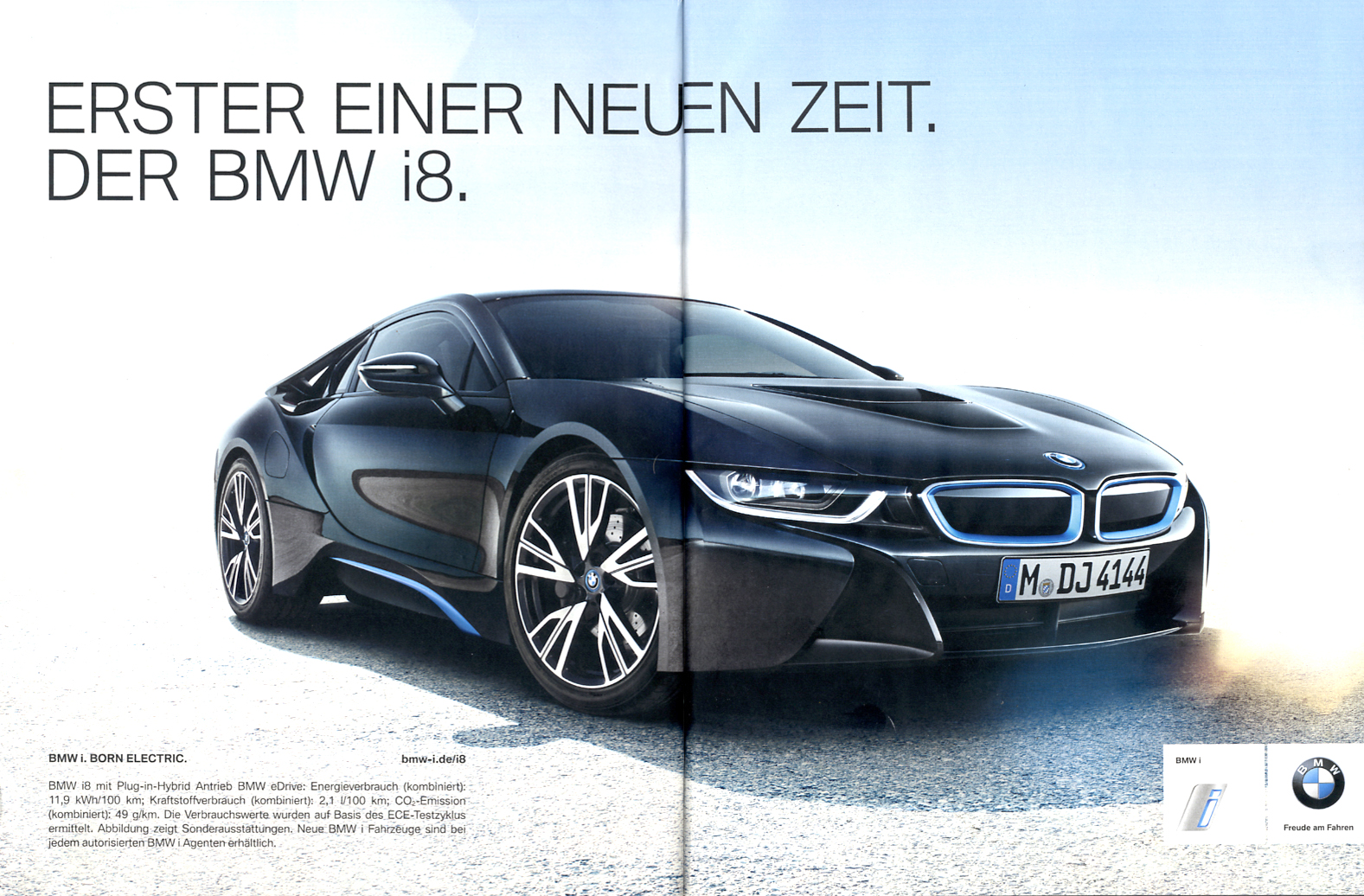 die zukunft beginnt bmw l sst kommunikation f r den i8 anrollen. Black Bedroom Furniture Sets. Home Design Ideas
