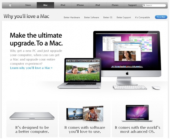 Die neue Kampagnenwebsite Apple.com/why-mac