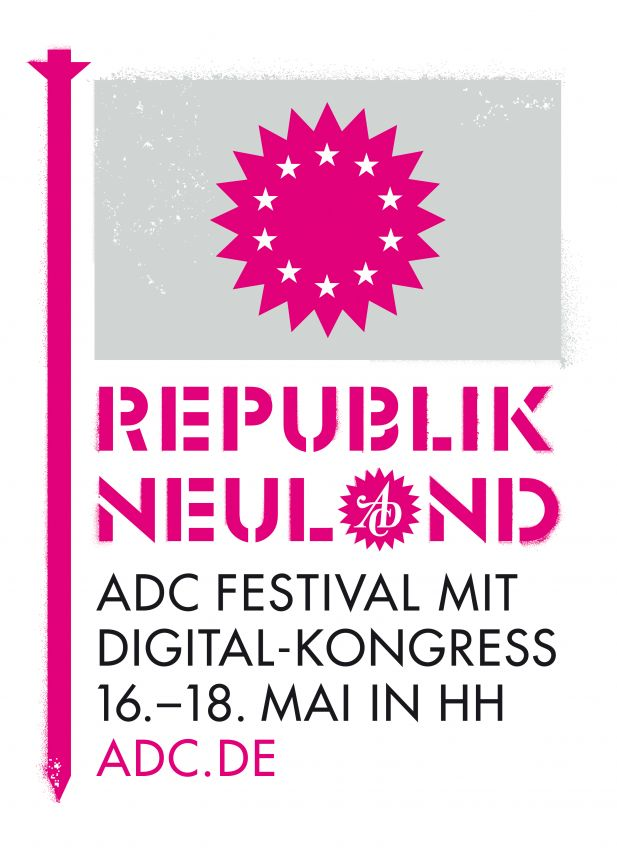 Key Visual des ADC Festivals 2013