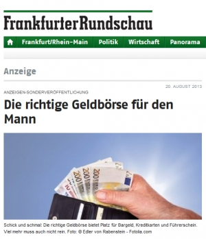 Native Ad bei FR Online