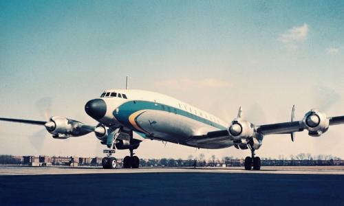 Retro Trend Lufthansa Fliegt Künftig Mit Historischer Langstrecken