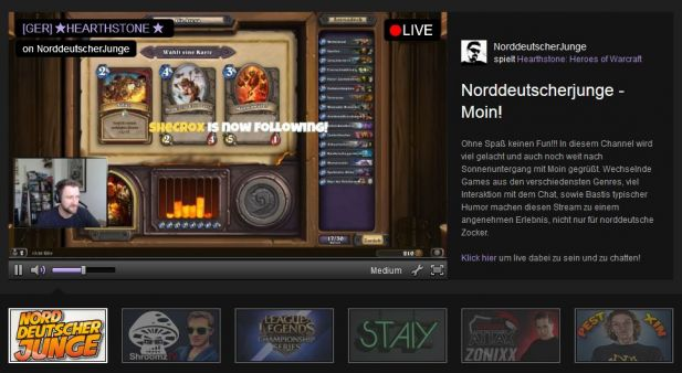 Die Gaming-Plattform Twitch.tv hat die Top-Ten des IVW-Online-Rankings erobert