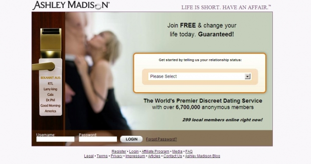 Ab Oktober auch in Deutschland: das Dating-Portal Ashley Madison