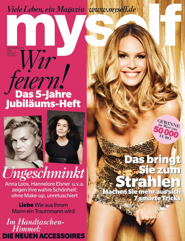 "Cover der ""Myself""-Septemberausgabe"
