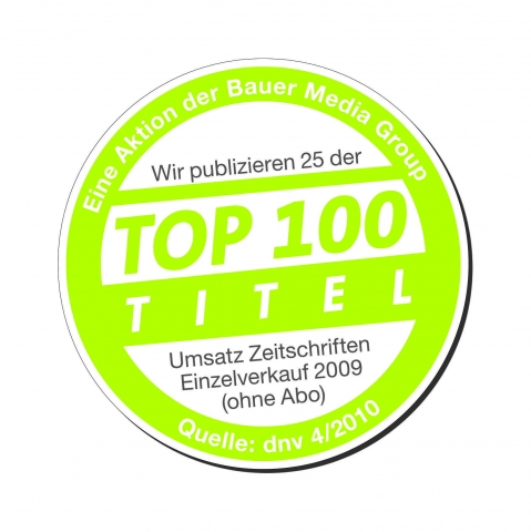 Die 3. Version des Top 100 Siegels